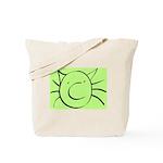 CatastropheCat green Tote Bag