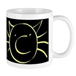 CatastropheCat blackyellow Mugs