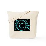 CatastropheCat blackaqua Tote Bag