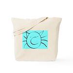 CatastropheCat aqua Tote Bag