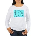 CatastropheCat aqua Long Sleeve T-Shirt