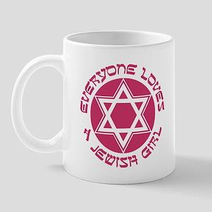 EVERYONE LOVES A JEWISH GIRL T-SHIRT Mug
