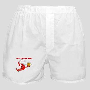 Funny Crawfish Boxer Shorts
