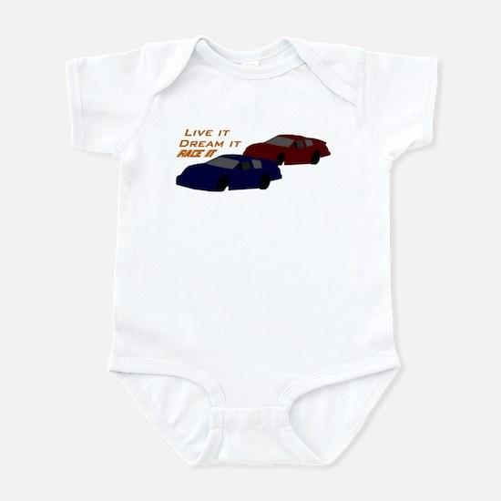 Race it Infant Bodysuit