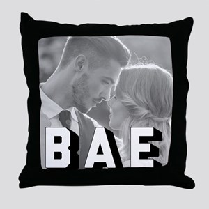 BAE Personalized Throw Pillow