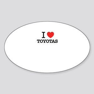 I Love TOYOTAS Sticker