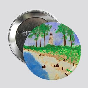"Madisonville Lighthouse Paint 2.25"" Button"