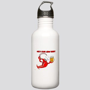 Funny Crawfish Stainless Water Bottle 1.0L