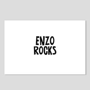 Enzo Rocks Postcards (Package of 8)