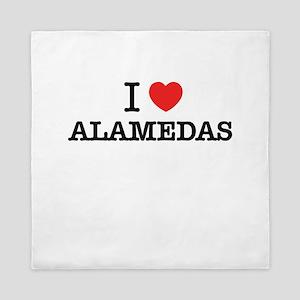 I Love ALAMEDAS Queen Duvet