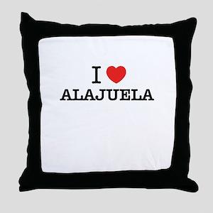 I Love ALAJUELA Throw Pillow