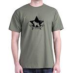 Obey the Bouvier! Star Icon Dark T-Shirt