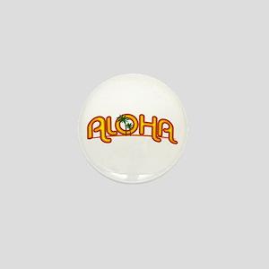 Aloha Retro Mini Button