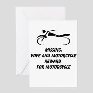 Fun Motorcycle Greeting Cards