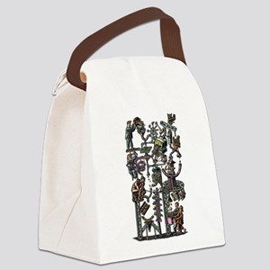 Complicated Business Machine Canvas Lunch Bag
