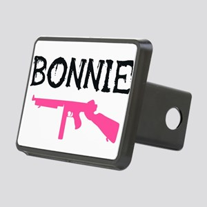 Bonnie and clyde hat Rectangular Hitch Cover