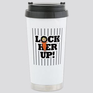 Lock Her Up! Stainless Steel Travel Mug