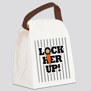 Lock Her Up! Canvas Lunch Bag