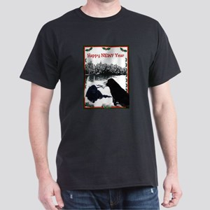 Happy Newf Year Dark T-Shirt