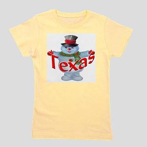 Texas Snowman T-Shirt