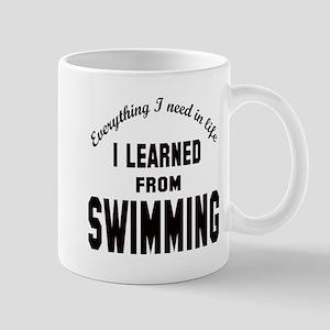 I learned from Swimming Mug