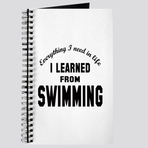 I learned from Swimming Journal