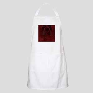 Red Helping Hands Light Apron