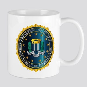 FBI Seal Mockup Mugs
