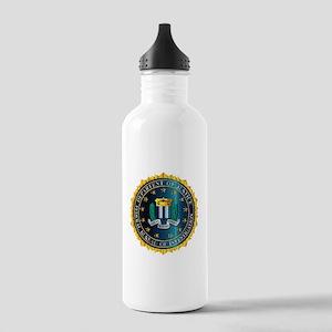 FBI Seal Mockup Stainless Water Bottle 1.0L