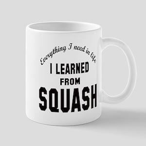 I learned from Squash Mug