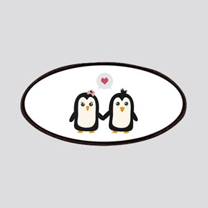Penguins in love Patch