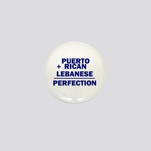 Puerto Rican + Lebanese Mini Button