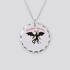 Jersey Devin Necklace Circle Charm