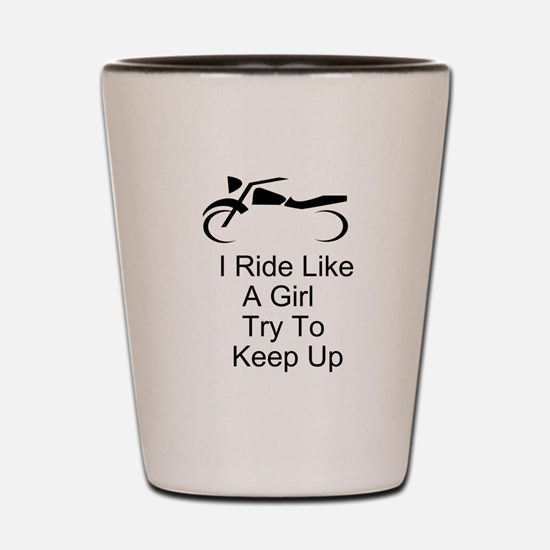 Fun Motorcycle Shot Glass