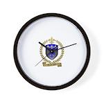LANTEIGNE Family Crest Wall Clock