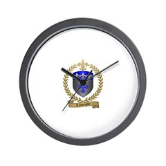 LANTEIGNE Family Crest Wall Clock