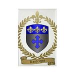 LANTEIGNE Family Crest Rectangle Magnet (10 pack)