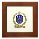 LANTEIGNE Family Crest Framed Tile