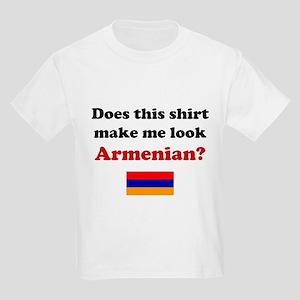 Make Me Look Armenian Kids Light T-Shirt