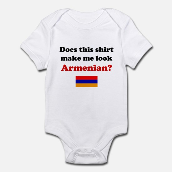 Make Me Look Armenian Infant Bodysuit