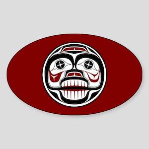 Northwest Pacific coast Haida Weeping skull Sticke