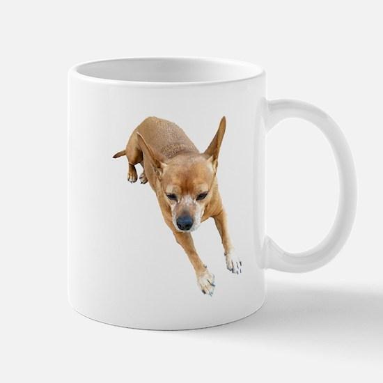 Chiweenie On Break Mug