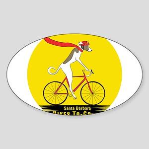 SB Bikes To-Go: Oval Sticker (10 pk) Sticker