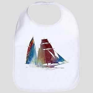 Sailing ship Bib