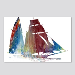 Sailing ship Postcards (Package of 8)
