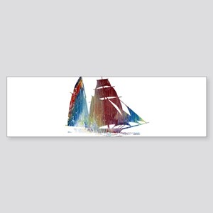 Sailing ship Bumper Sticker