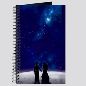 Walking on the Moon Love Journal