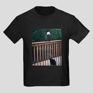 Halloween Candy Kids Dark T-Shirt