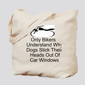 Fun Motorcycle Tote Bag