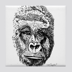 Gorilla by 1meps Tile Coaster